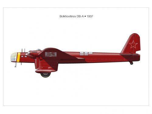 Il bombardiere pesante Bolkhovitinov DB-A