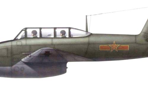 Jakovlev Jak-17UTI, il primo aviogetto da addestramento cinese