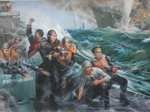 Battaglie navali della Repubblica Democratica Popolare di Corea