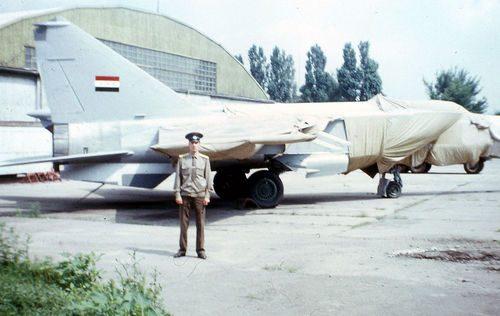 Il MiG-25 iracheno che abbatté un F-15 statunitense