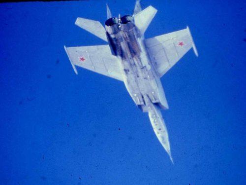 L'incredibile MiG-25