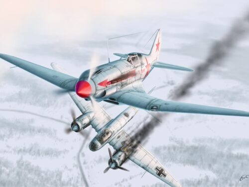 Battaglie aeree di Luga