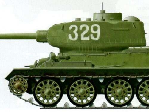 Il T-34 in battaglia contro i nordamericani