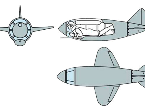 L'aereo da caccia di Lev Golovin