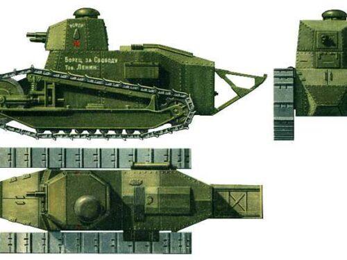 Il Primo carro armato sovietico