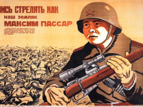 Arsenij Etobaev, il cecchino che abbatté due aerei tedeschi col fucile